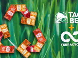 Taco Bell se asocia con TerraCycle para reciclar paquetes de salsa picante