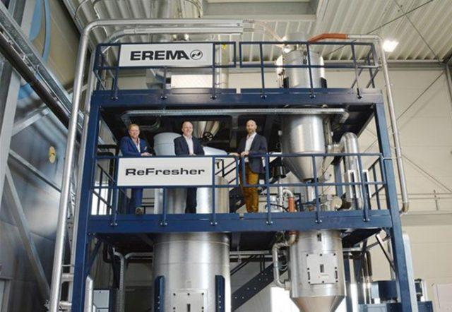 Aumento de la demanda de sistemas de reciclaje con tecnología EREMA ReFresher