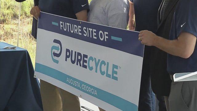 PureCycle para construir una nueva planta de reciclaje en Augusta, Georgia